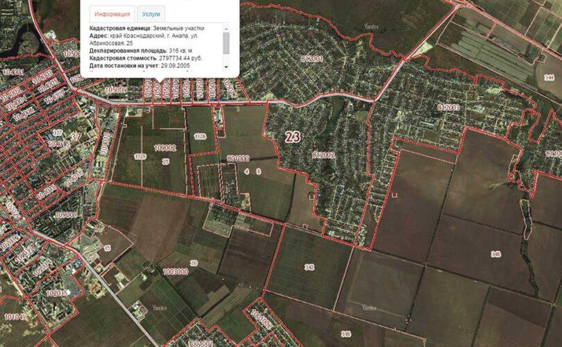 Описание государственного земельного кадастра