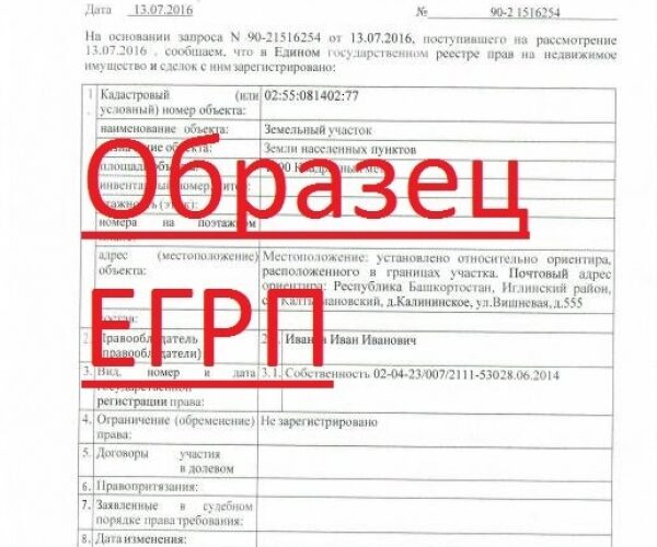 Что такое ЕГРП